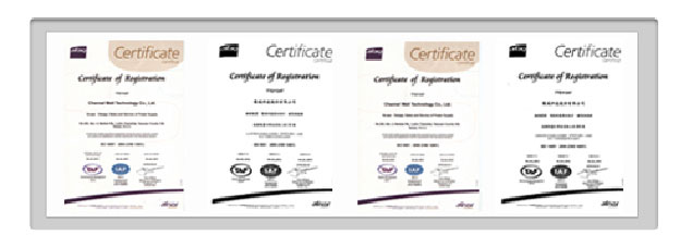 Certificates - Channelwell